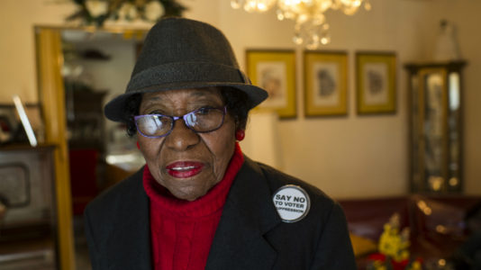 Rosanell Eaton, civil rights activist once celebrated by Obama, dies at 97