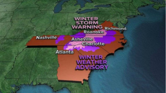 VA, NC and more digging out after snowstorm slams Southeast