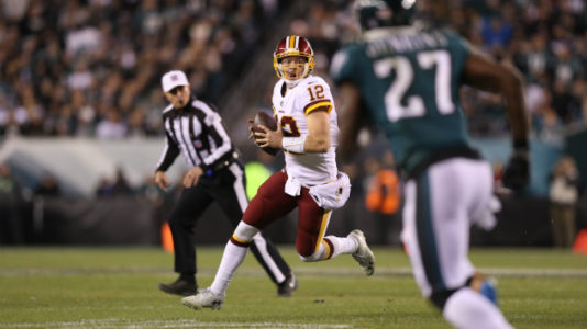 Redskins quarterback Colt McCoy suffers season-ending injury after two starts