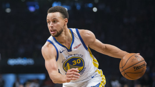 dfd5845b4326 Stephen Curry makes history with third straight game of eight or more  3-pointers