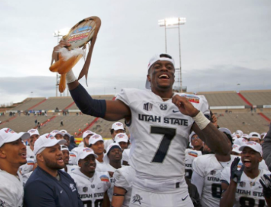 Utah State Cornerback DJ Williams Named to ESPN All-Bowl Team
