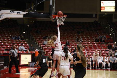 Peyton Shepherd Has Best Game of Her Collegiate Career in SUU Women's Basketball Loss