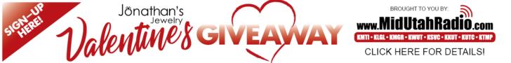 Jonathan's Jewelry and Mid Utah Radio Valentines Winners