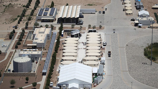 Tornillo, the Texas tent camp that housed thousands of migrant children, will close: HH