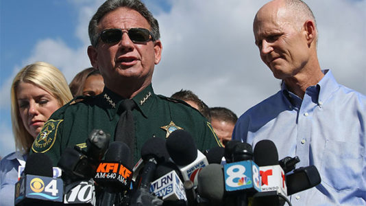 Florida sheriff suspended over handling of Marjory Stoneman Douglas High School shooting