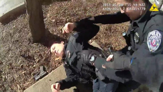 Indiana police release body cam footage of officer accidentally shooting partner