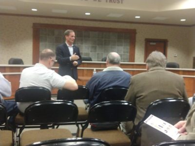 Chris Stewart holds town hall in Richfield