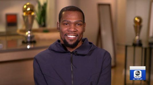 Kevin Durant opens up about his new ESPN series