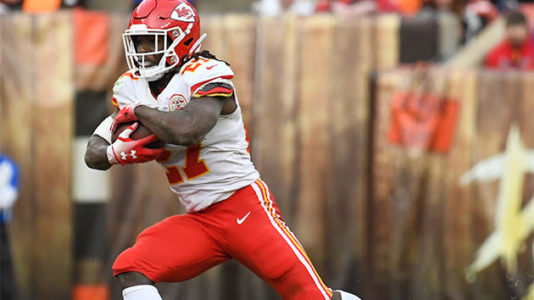 Running back Kareem Hunt back in the NFL, 2 months after he was caught on video beating woman