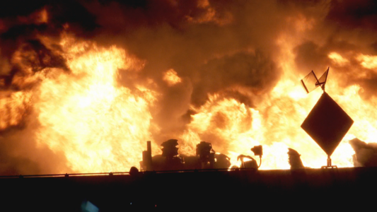 UDOT spokesman: Repairs needed after tanker fire