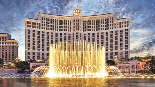 Alleged robber at Bellagio casino dies after trading gunfire with police on Las Vegas strip