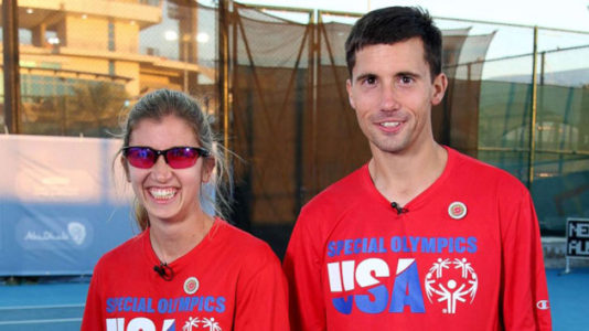 Engaged couple sets their sights on gold at Special Olympics World Games