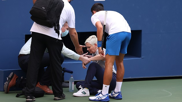 Novak Djokovic Apologizes After Defaulting Us Open Match For Hitting Line Umpire With Ball Mid Utah Radio